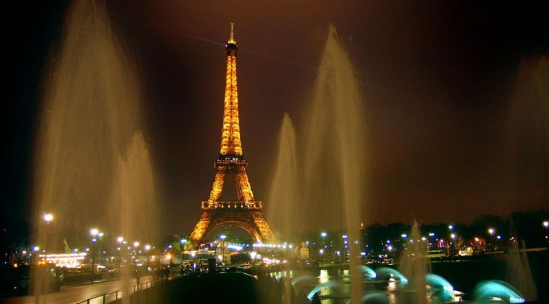 Франция в апреле