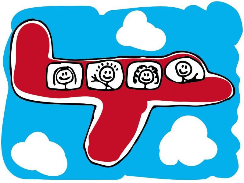 Путешествия с младенцем — летим самолётом
